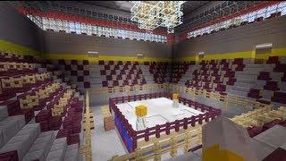 getlinkyoutube.com-Minecraft Xbox - Boxing Ring - SPANKLECHANK's World Tour - Part 11