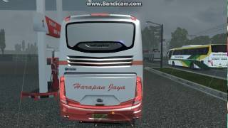 ETS2 Harapan Jaya test drive + blong [real sound]