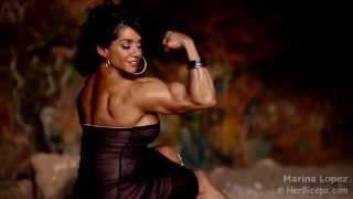 getlinkyoutube.com-Marina Lopez She Flexes Hard