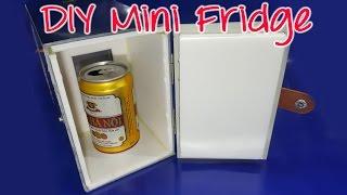 getlinkyoutube.com-How to make a mini Fridge At Home