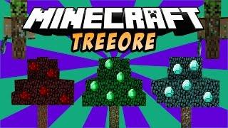 getlinkyoutube.com-ARBOLES DE ORES: TreOres (Árbol De Diamante, Oro, Esmeralda, Hierro) - Minecraft Mod 1.8/1.7.10