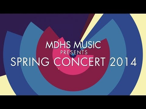 When I Fall in Love - Monday Morning Blues Band feat. Rachel Snelgrove - MDHS Spring Concert 2014