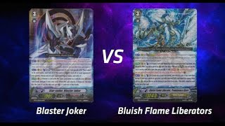 getlinkyoutube.com-Cardfight! Vanguard - Blaster Joker vs. Bluish Flame Liberators