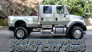 2006 International 7400 CXT 4x4 - Only at Northwest Motorsport