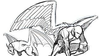 getlinkyoutube.com-How to Draw Wings