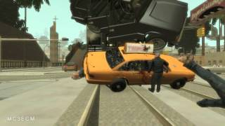 getlinkyoutube.com-Epic Train Accident (GTA IV San Andreas) with slow motion