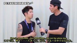 getlinkyoutube.com-ONE OK ROCK Interview by PUNKVIDEOSROCK [Translated in Japanese/English] 日本語字幕