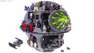 getlinkyoutube.com-LEGO Star Wars Death Star review! 75159