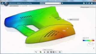 getlinkyoutube.com-Plastic part filling  simulation for mold tooling designers CATIA R2016x