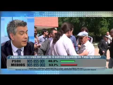 Así defiende la violencia Pablo Iglesias, líder de Podemos