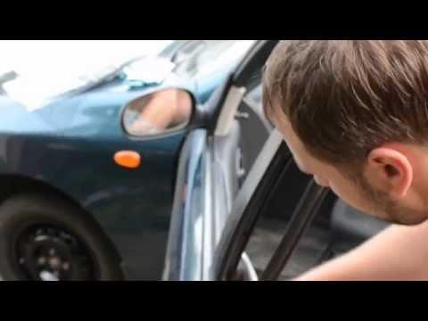 Daewoo Lanos замена уплотнителей дверей