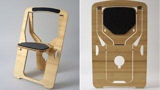 getlinkyoutube.com-Складной стул  решение для маленьких пространств