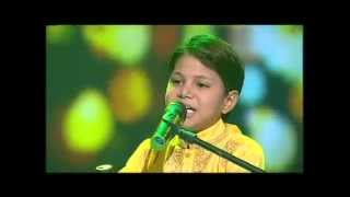 A melodious bhojpuri song by little AKASH KUMAR MISHRA