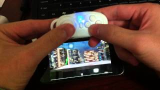 getlinkyoutube.com-Wireless Bluetooth Game Controller Gamepad for Android /iOS Phone selfie buletooth