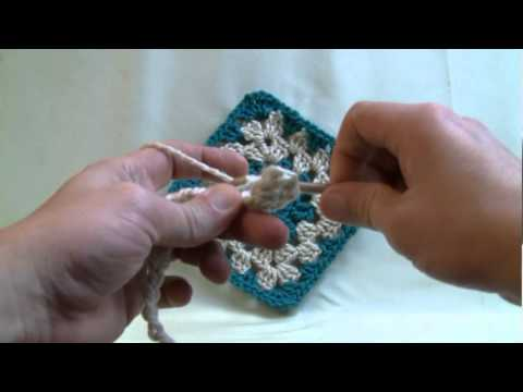 Beginner How to Crochet - Lesson 1 - Chain, Double Crochet and Holding Yarn (dc)
