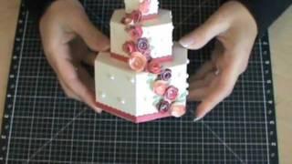 getlinkyoutube.com-3-D Cardstock Cakes using the Art Philosophy Cricut Cartridge