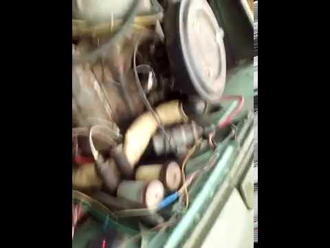 Давление на прогретом моторе луаз