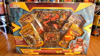 getlinkyoutube.com-Pokemon Krookodile EX Box Opening