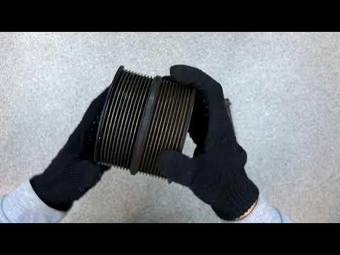 Очень редкий шкив. обзор двойного шкива с двигателя скания с топливной xpi