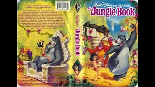 Opening To The Jungle Book 1991 VHS (Version 1)