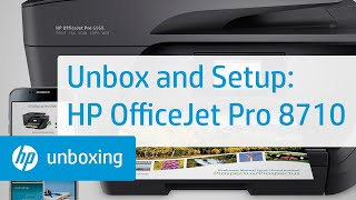 getlinkyoutube.com-Unboxing, Setting Up, and Installing the HP OfficeJet Pro 8710 Printer
