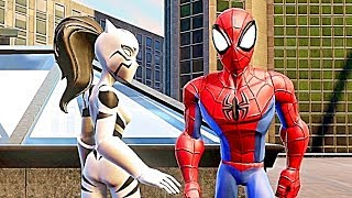 getlinkyoutube.com-Disney Infinity 2.0 Spiderman Playset MOVIE! All Cut Scenes, Boss Fights & ENDING HD 60FPS 1008p