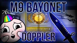 getlinkyoutube.com-CS:GO M9 BAYONET DOPPLER UNBOXING