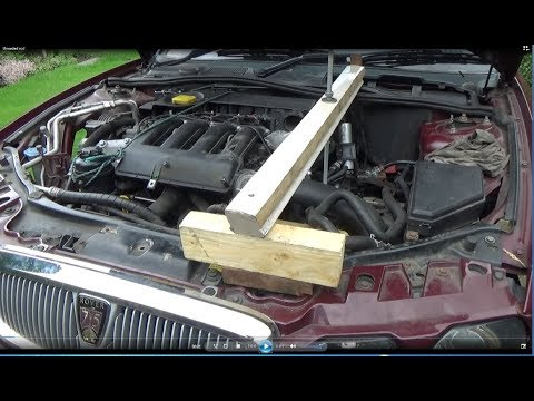 ROVER 75 EASY SUBFRAME CLUTCH AND GEARBOX REMOVAL