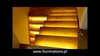 getlinkyoutube.com-Stair light controller - Reactive Lighting - Stair Lighting System - Automatic LED Stair Lighting
