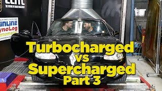 Turbocharged Vs Supercharged - Part 3 [Dyno Battle]