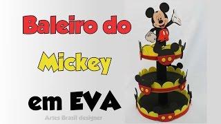 getlinkyoutube.com-DIY Baleiro do mickey de EVA e isopor