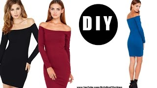 getlinkyoutube.com-DIY Off The Shoulder Dress