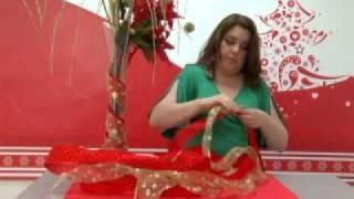 getlinkyoutube.com-Como hacer florero navideño