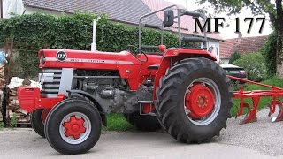 getlinkyoutube.com-Massey Ferguson MF 177 Traktor