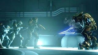 Halo 5 Cutscene - Halo 5 Guardians Intro Cutscene for Master Chief's Blue Team