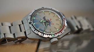getlinkyoutube.com-Обзор часов Восток Амфибия Альбатрос с механизмом 2409 на браслете.