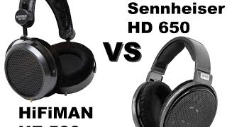 getlinkyoutube.com-Sennheiser HD 650 vs HiFiMAN HE-500 Comparison