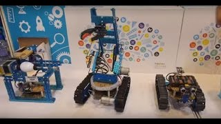 getlinkyoutube.com-Makeblock Starter Kit, 3D printing, Painting and more robots