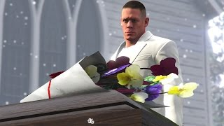 getlinkyoutube.com-WWE 2K17 Story - John Cena Attends Fake Cenas Funeral (WWE GTA Mods)