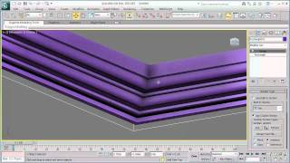 getlinkyoutube.com-How 3ds Max works? [Sweep Modifier] - Arabic