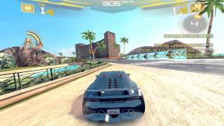 getlinkyoutube.com-Asphalt 7 Lamborghini Sesto Elemento-iOS Gameplay