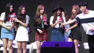 [Fancam] 150615 Red Velvet & Lay & Zhoumi at SUPERSTAR SMTOWN Fanmeeting in Beijing 2