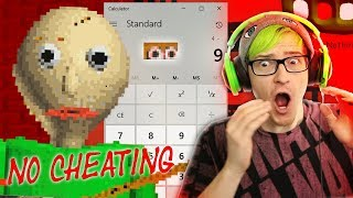 I used a calculator on Baldi and this happened... | Baldi's Basics In Education and Learning