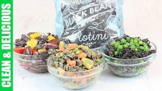Healthy Pasta Recipes 3 Ways - Trader Joe's Black Bean Rotini