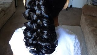 getlinkyoutube.com-TRENZA ESQUELETO / CAGE BRAID