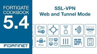 getlinkyoutube.com-Cookbook - SSL VPN Web and Tunnel Mode (5.4)