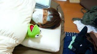 getlinkyoutube.com-夏カゼ( ˘ω˘ )ひきました I caught a summer cold.