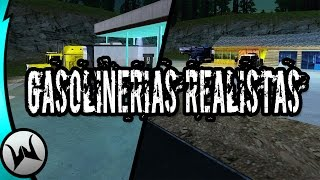 getlinkyoutube.com-Gasolinerias Realistas | Gta San Andreas | 2017