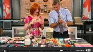 getlinkyoutube.com-DIY Crayon-melt Cards and Fridge Magnet Delights on S+C Show