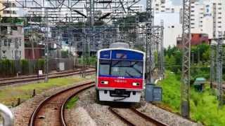 getlinkyoutube.com-Korail Line 1 Yongsan-Dongincheon express train arriving at Singil